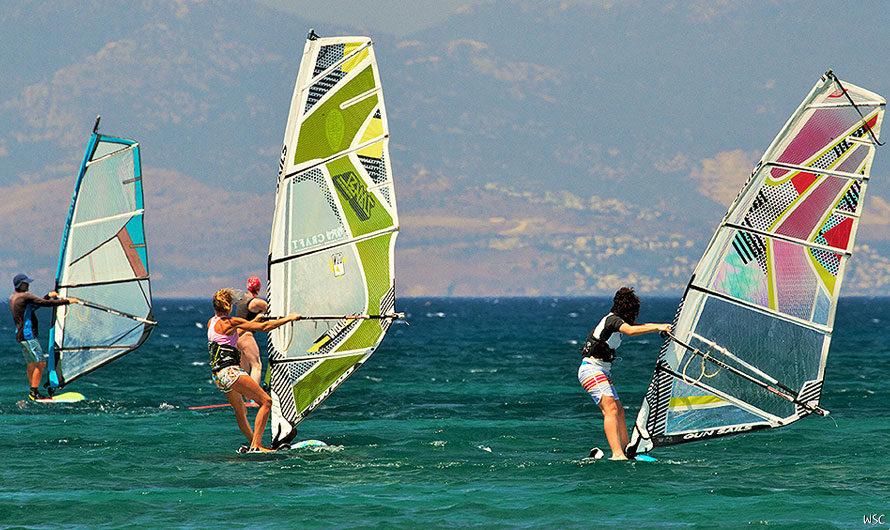 Виндсерф лето в Греции на Кос